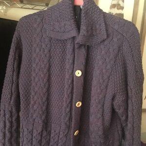 Sweaters - Wool cardigan sweater from Scotland